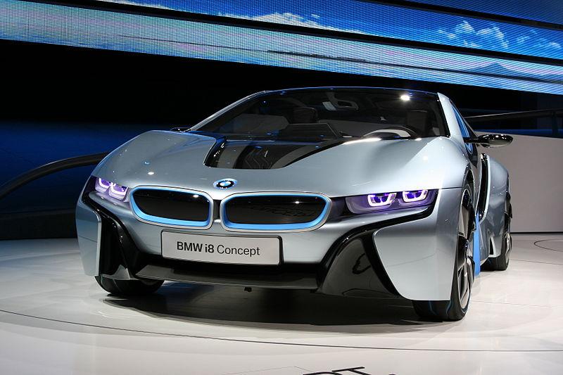 Bmw I8 Innovative Technologien Sportliches Fahren